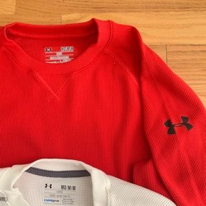 Under Armour Shirts - Under Armour dri-fit waffle shirts